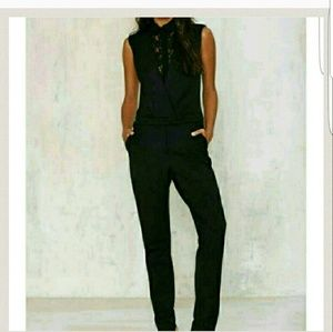 Supertrash lace jumpsuit